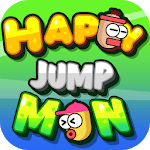 Happy Jump Man for pc logo