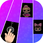 LOL Piano tiles surprise Dolls for pc logo