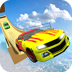 Impossible Mega Ramp Sports Car Stunt Drive icon