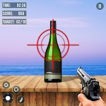 Real Bottle Shooter Hero 2019 :Free Shooting Game for pc logo
