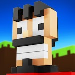 Lucky in craft: Building adventure block icon