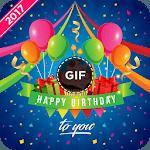 Birthday GIF image for pc logo