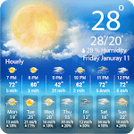 The Weather Forecast : Live Hourly & Daily Updates icon