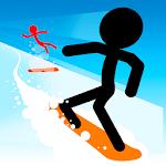 Stickman Snow Ride icon