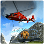 Helicopter Wild Animal Rescue icon