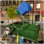 Garbage Truck Simulator: Trash Waste city icon