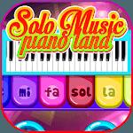 Magic Solo Music Piano Land School Games for pc logo