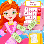 Pink Princess Cashier -Shopping MallCash Register icon