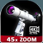 Magnifying Zoom Telescope OPTI camera 7x45 for pc logo