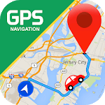 GPS Route Finder & Transit: Maps Navigation Live icon