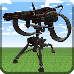 MCPE Gun Mod - Machine Gun Turret icon