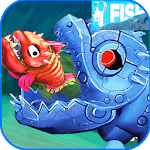 3D Feed Metal Shrk Fish Simulator icon