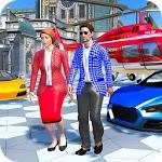Virtual Billionaire Family Mom Dad Life Simulator icon