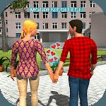 Virtual Girlfriend Crush Love Life Simulator for pc logo