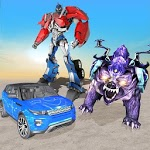 Grand Robot Car Transformation Wild Bear icon
