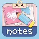 Cute Sticky Notes Widget icon
