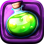Tiny Potions - Idle Witches for pc logo
