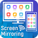 Screen Mirroring with TV - Connect Mobile to TV icon