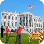 President House Building – City Construction Games icon