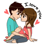 Love Story Stickers - WAStickerApps icon