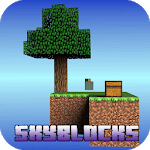 SkyBlock Map for MCPE for pc logo