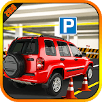Modern Jeep Parking 4x4 icon