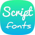 Script Fonts for Samsung icon