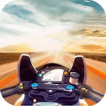 Motor Simulator On Extreme Race for pc logo