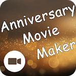 Anniversary Movie Maker With Song icon