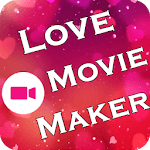 Love Movie Maker With Song icon