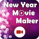 New Year Movie Maker 2018 icon