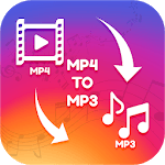 Video to mp3-Mp3 converter,mp4 to mp3 for pc logo