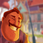 Try not to show off in Hello Neighbor - Tips icon