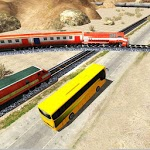 Train Vs Bus Racing icon