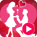 Valentine Video Maker With Music 2019 icon