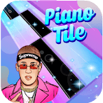 Piano Bad Bunny Magic Tiles for pc logo