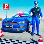 Real Police Car Parking & Driving School Test icon