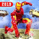 Superhero Iron Robot Rescue Mission 2019 icon