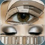 HD makeup (face, eye, lip) icon