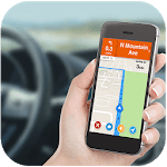 GPS Navigation & Traffic Maps Tracker for pc logo