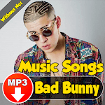 Bad Bunny Songs for pc logo