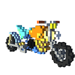 Bikes 3D Color by Number - Voxel Vehicles Coloring icon