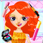 Glitter Makeup: Dressup & Makeup, Color by Number icon