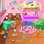 Princess Room Cleanup-Wash, Clean, Color by Number icon