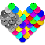 Sequin Art - Color by Number, Coloring Book Pages icon