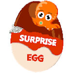 Surprise Eggs Color by Number - Pixel Art Coloring icon
