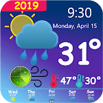 Weather and Radar Live Forecast for pc logo