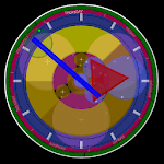 Circadian clock icon