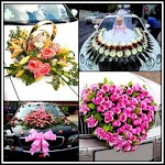Wedding Car Decoration Creative Ideas Designs DIY icon