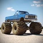 Monster Truck Desert Death Race 3D: Truck Game icon